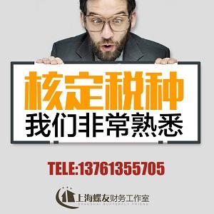 新注册的上海公司核定税种流程及相关要点解释